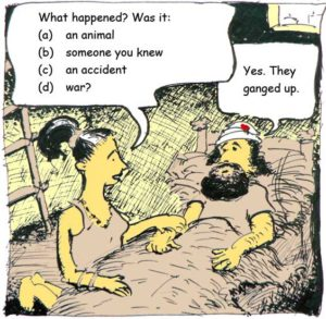 unfunny cartoon